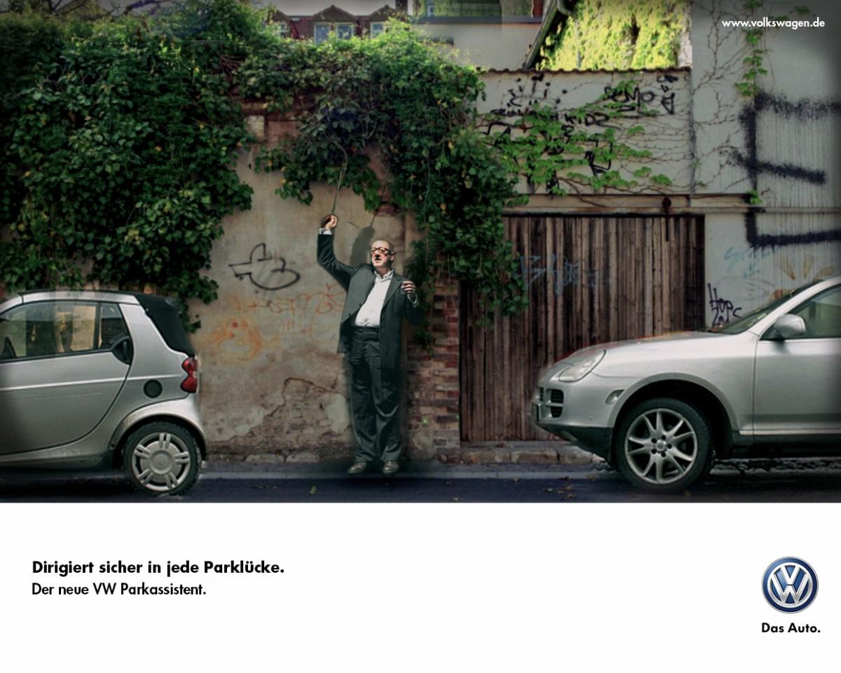 Dirigent Werbung