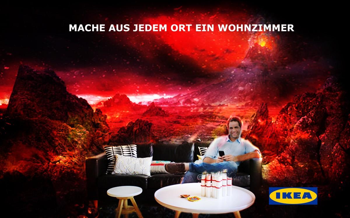 Ikea heiß